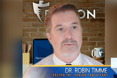 DR. ROBIN TIMME, Senior Consultant for Falcon Correctional and Community Services, Inc